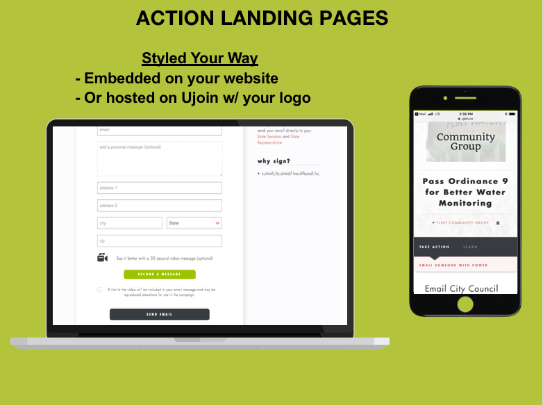 6 Action Pages - styled your way - Kory Payne