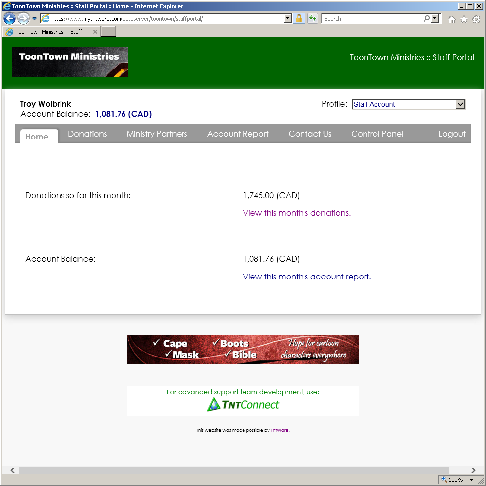 donorhub-staff-portal-screenshot-1 - Troy Wolbrink